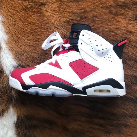8db9f54e20fa86 Jordan Other - Air Jordan 6 Carmine size 8